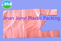 Eco-friendly plastic vest carrier bag for shopping
