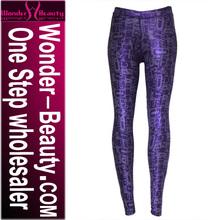 wholesale chic cheap purple alphabet print sexy leggings girls pics