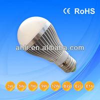 cheaper price 12v e27/e14/b22 led lighting bulb 3w-12w
