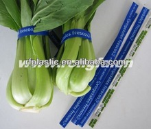 PET plastic vegetable packing twist ties/clips