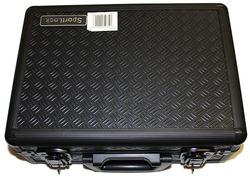 New Sportlock Aluminum Locking Double Pistol Case with Foam
