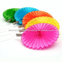 "10"" Paper Fans Hanging Wedding Party Shower Birthday Decoration mix colors"