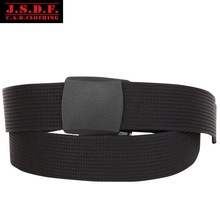 C.A.B.CLOTHING JSDF Japanese-made canvas belt with black military buckle