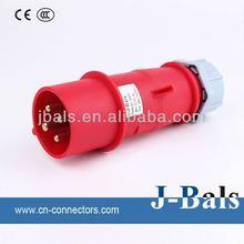 CA0242 industrial plug 16a 3p ip44 013 220v