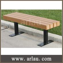 Arlau FW205 wood garden bench wood plastic composite park bench