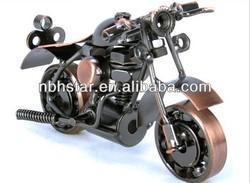 Vintage Harley Davidson Motorcycle handmade metal motorcycle model(HSD-MC-M37A)