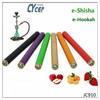 Top sale e hookah 500 puffs portable e hookah shisha pen with MOQ