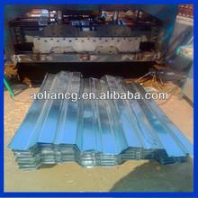 Acier / métal / étain ondulée de toiture feuilles avec Polyester ou PVC enduit fini