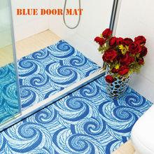 attractive design bath Indoor PVC foam anti skid printed decorative floor mat