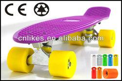 fiberglass skateboard deck plastic skateboard