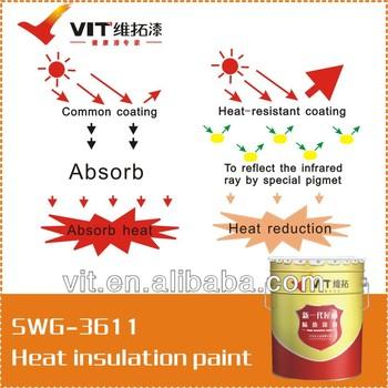 VIT concrete wall heat resistant paint