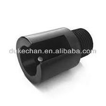 black anodized aluminum screw