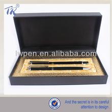 Metal Fountain Pen & Roller ball Pen Gift Pen Set