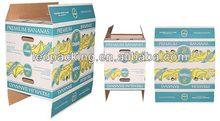 The Custom Printing Corrugated Pineapple Caron Box