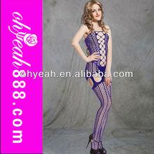 Colorful Elegant fascinating Sheer Woman Nylons Body Stocking