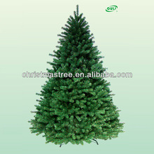 Fashional 7 ft (210cm) Green Artificial Christmas Pine Tree 210 Tips Metal Stand For Sale
