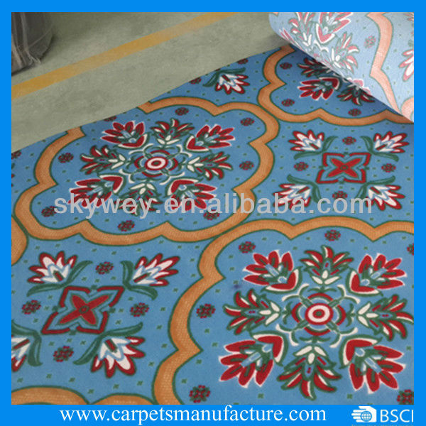 Non Woven Carpets Non-woven Needle Punched