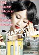 FEG eyelash eye lash eyebrow brow enhancer / Eyelash growth enhancing lengthening serum / Thicker darker longer eyelashes