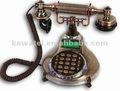 telefone fabricante de reprodução antigo telefone
