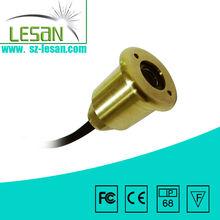 long life lasting 1W 12v led light fountain diameter 40mm