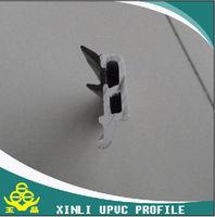 with gasket or seal strip double glass sliding window glazing bead upvc profile