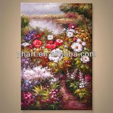 Popular design canvas flower art picture