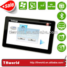2014 NEW SALE 5 INCH HD touch screen handheld auto gps with bluetooth handsfree function only $37.00/PC