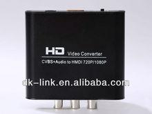 Good quality VGA to HDMI/AV/Ethernet converter