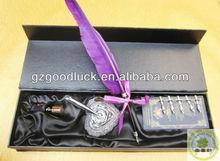 European Feather Pen & Ink Set 2014 Good Quality