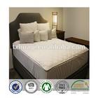 cotton mattress topper with skirt