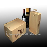 Wooden Wine Packaging Carrier