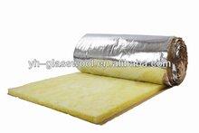 Fiberglass thermal Insulation duct Wrap blanket,glass wool