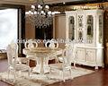 deluxe redonda mesa de jantar e cadeiras com mesa de mármore e susan preguiçosa