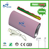 hottest! portable mobile power bank charger 5000 mah for ipad/ipod/iphone 5/iphone 4 all mobile phones