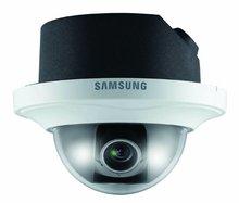 "SS159 - SAMSUNG SND-5080FP iPOLiS 1/3"" 1.3MP HD H.264 NETWORK POE FLUSH MOUNT DOME CCTV CAMERA"