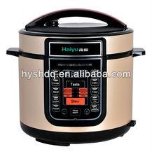 6L multifunction electric pressure cooker Golden champagne