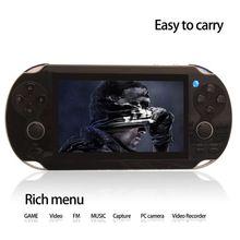4.3'' portable 64 bit game for children mini video game player