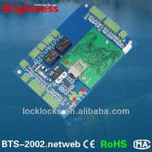 tcp/ip access control board control 1 door BTS-2001.webN