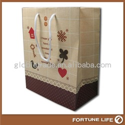 customized paper bag packaging,2014 China manufacturer
