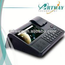 "pos system /pos terminal 7""color display Android 4.0 3G WCDMA WIFI RFID Barcode Reader PSAM Printer Camera SIM card"