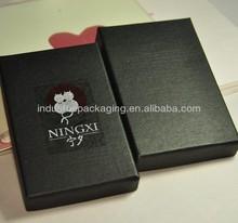 Best Quality black rigid Wholesale Custom Paper Gift Box