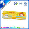 2014 double cover neoprene pencil case /plastic pencil case /PP pencil case for kids