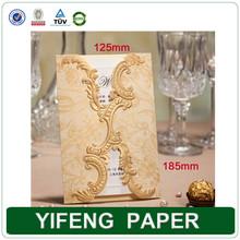 Customized Foldding Wedding Invitation Card