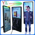 de alta calidad precio bajo caminar publicidad billboard pie vallas cartelera reciclados