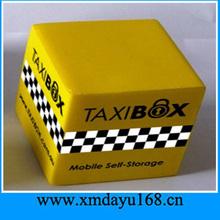 2014 China PU Foam Toy Ball Custom Cube Stress Ball