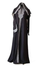Arabic ladies gown/Muslim plus size nightgown/New abaya 2014 -Latest fashion 2014 dubai muslim Women kaftan abaya