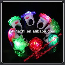 LED silicon finger lights