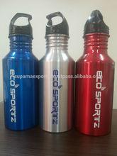 ecoSPORTZ 600ML Aluminium Sports Water Bottle