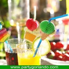 Top grade creative craft cocktail crazy drinking straw