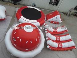 2014 hot seller inflatable water equipment,slide,walking ball,see saw,fly fish,banana boat